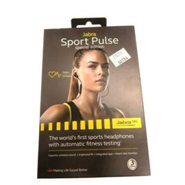 Jabra Sport Pulse Special Edition Bluetooth Earphones with Heart Rate Monitor