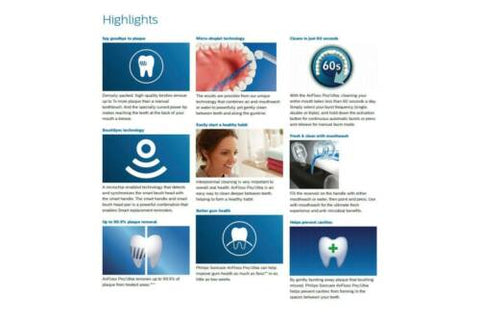 Philips ProtectiveClean Kit 4300 with Airfloss Ultra Electric Toothbrush