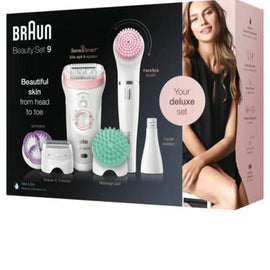 Braun Silk Epil 9 Beauty set Senso Smart Electric Epilator for Women