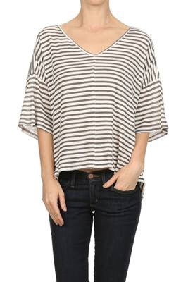 Back Tied Boxy Top