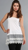 Ivory Cami with Lace