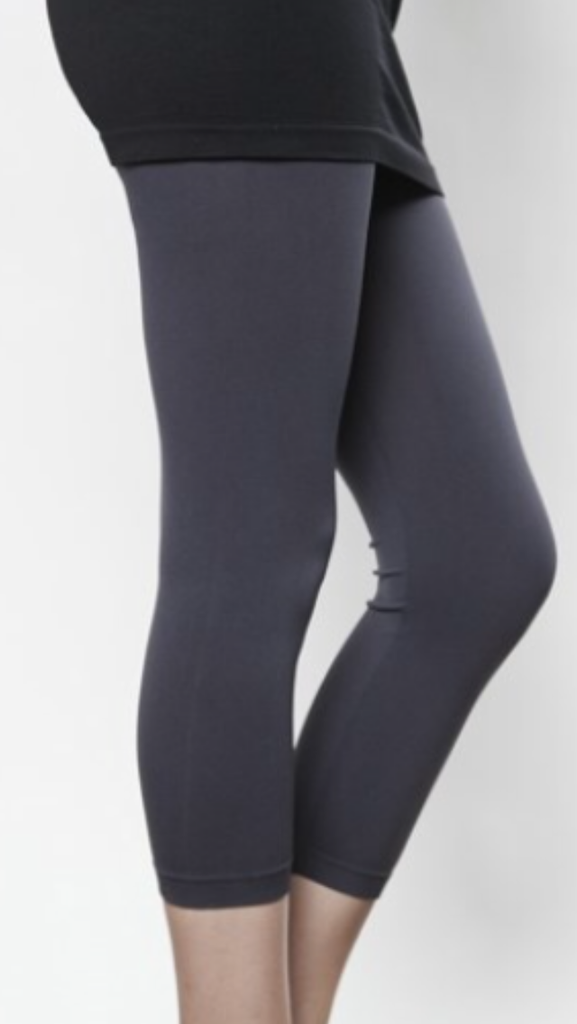 Charcoal Cropped Leggings