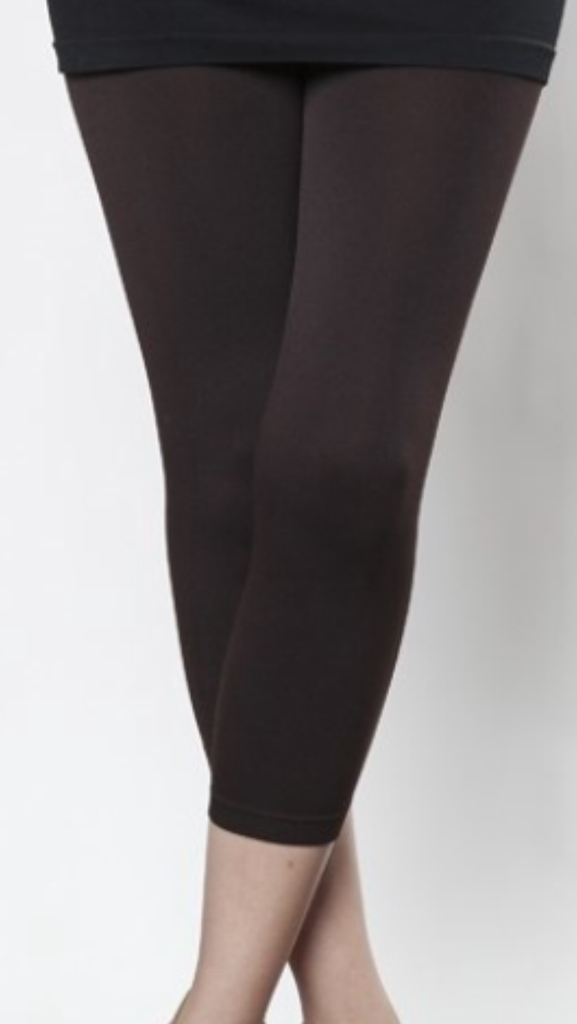 Brown Cropped Leggings