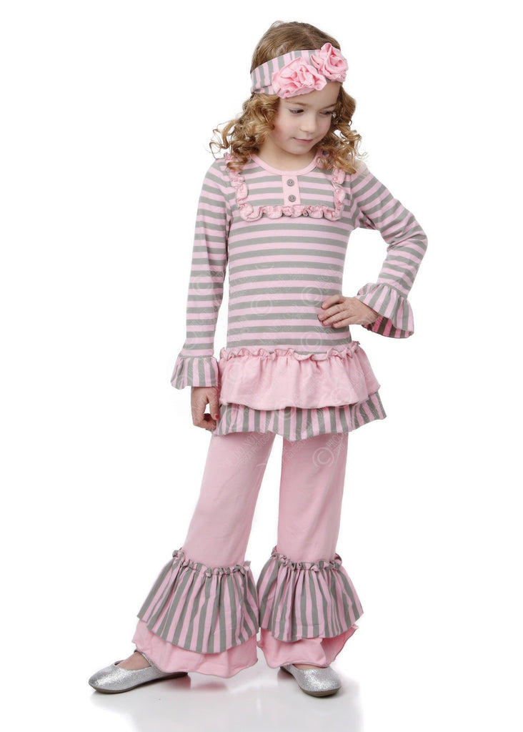 Madison Pink/Grey Swing Set