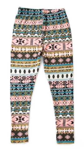 Snowflake Print Leggings