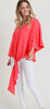 Chic Coral Top