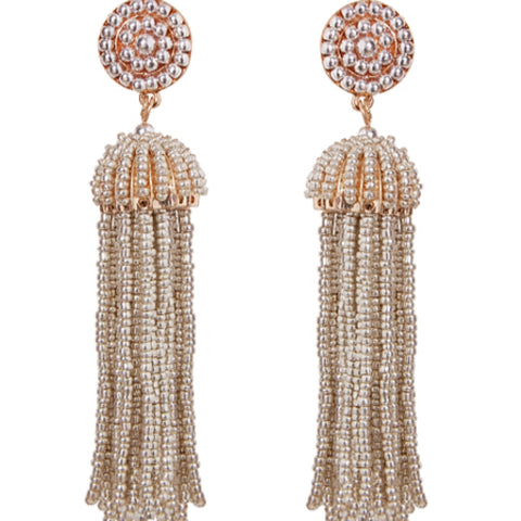 Sand Tassel Earrings