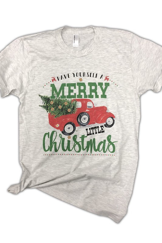 Merry Little Christmas Tee Women's