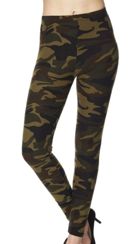 Camo Leggings Adult