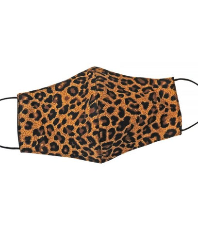 Leopard Face Mask Large
