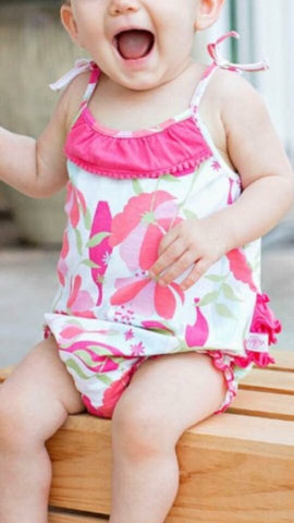 Fruit Punch Bubble Romper