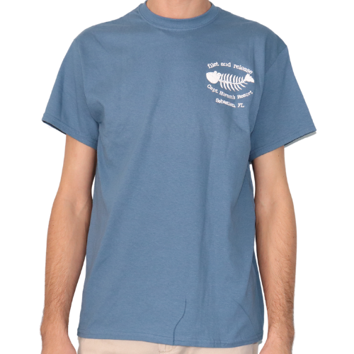 Mens Filet and Release Short Sleeve Shirt