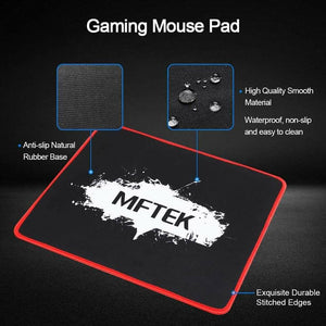 MFTEK Gaming Keyboard and Mouse Combo