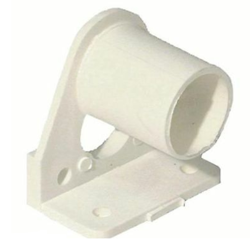 SNAP IN MUSLIN BRACKET - WHITE