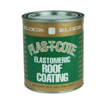 Plas T Cote Rubber Roof Coating, 4 Litre