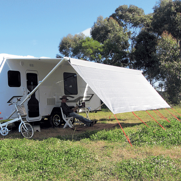 COAST V2 Sunscreen W3415mmxH1800mm T/S 12 CF Awning.