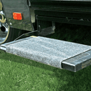 CAMCO RV WRAP AROUND STEP RUG-GREY. 42925