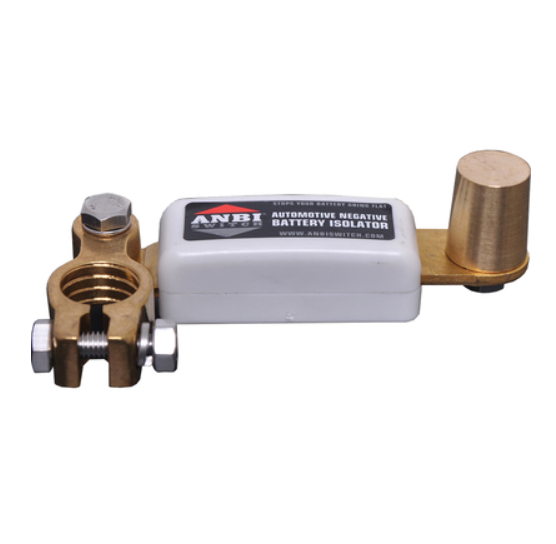ANBI SWITCH - Battery Isolator.