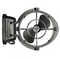 CAFRAMO Sirocco II 12/24V Black 7 Gimbal Fan w/ 3 Speed. 7010CABBX