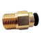 "JG BRASS STRAIGHT 12MM x 1/2"" NPT STRAIGHT ADAPTOR - NC2726"