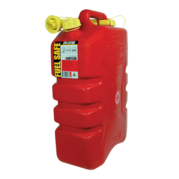 FUEL SAFE ALL PURPOSE PLASTIC 20L FUEL CAN. FC20R