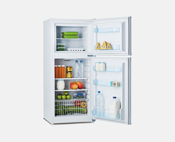190L DC 12V/24V (WHITE) 12V UPRIGHT CARAVAN FRIDGE