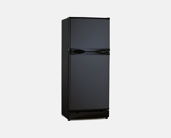 185L LPG / 240V (BLACK) BUSHMAN FRIDGE/FREEZER
