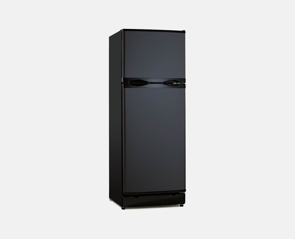 280L LPG / 240V (BLACK) BUSHMAN FRIDGE/FREEZER