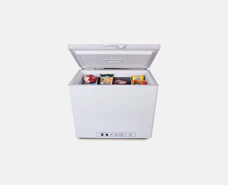 180L LPG / 240V CHEST FREEZER (WHITE) BUSHMAN