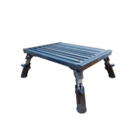 Supex adjustable Metal step with telescopic legs