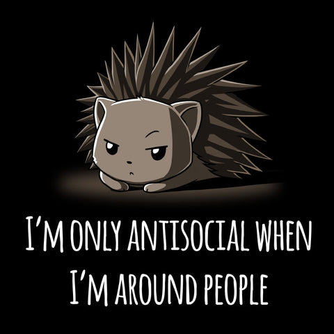 Antisocial shirt TeeTurtle