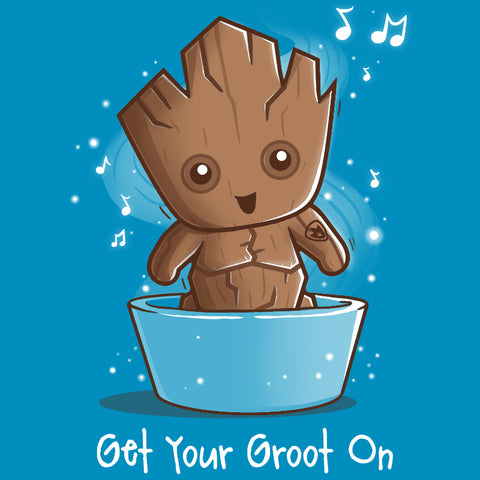 Get Your Groot On shirt TeeTurtle