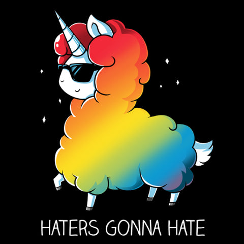 Haters Gonna Hate t-shirt TeeTurtle