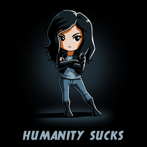 Humanity Sucks t-shirt Marvel Jessica Jones TeeTurtle