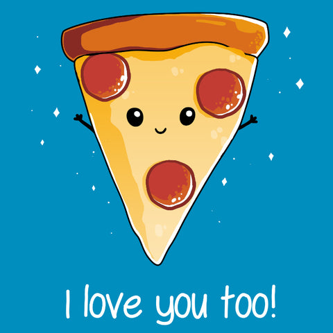 I Love Pizza! t-shirt TeeTurtle