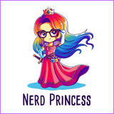 Nerd Princess (White)