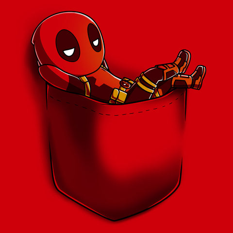 Deadpool Pocket t-shirt TeeTurtle