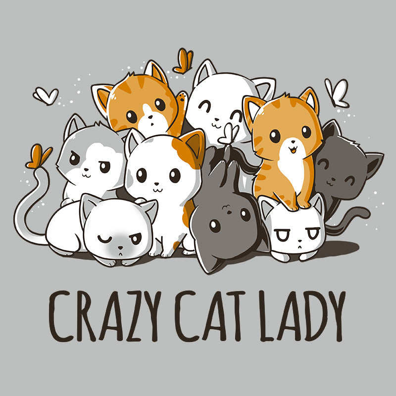 Crazy Cat Lady Funny Cute amp Nerdy Shirts TeeTurtle