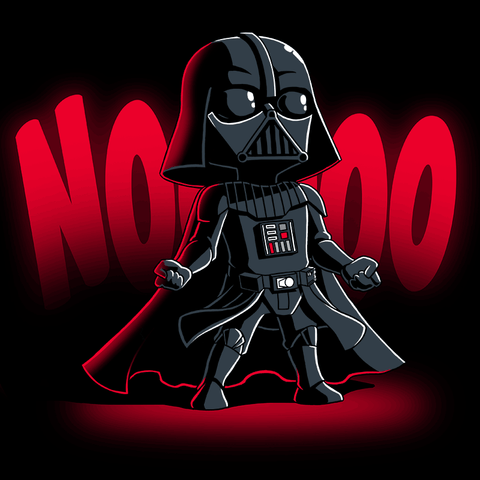 NOOOOO T-Shirt Star Wars TeeTurtle