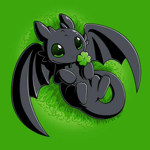 Lucky Toothless T-Shirt Dreamworks TeeTurtle