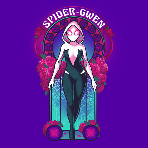 Spider-Gwen Nouveau T-Shirt Marvel TeeTurtle