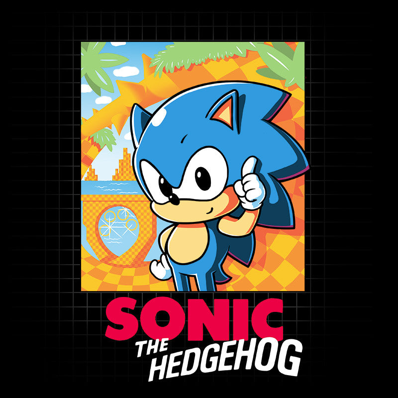 Sonic Retro T-Shirt Sonic the Hedgehog TeeTurtle