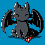Happy Toothless T-Shirt How to Train Your Dragon TeeTurtle