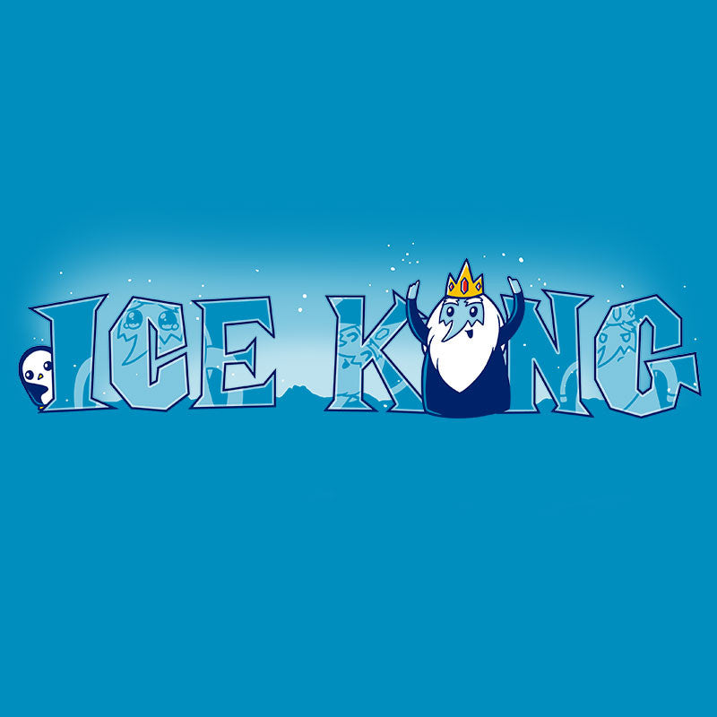 Ice King T-Shirt Adventure Time TeeTurtle