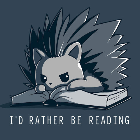 I'd Rather Be Reading T-Shirt TeeTurtle
