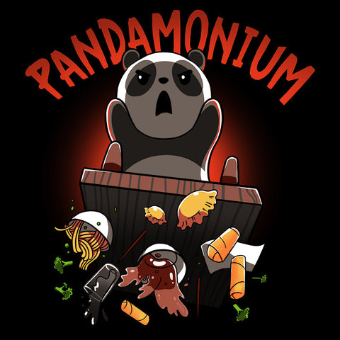 Pandamonium T-Shirt TeeTurtle