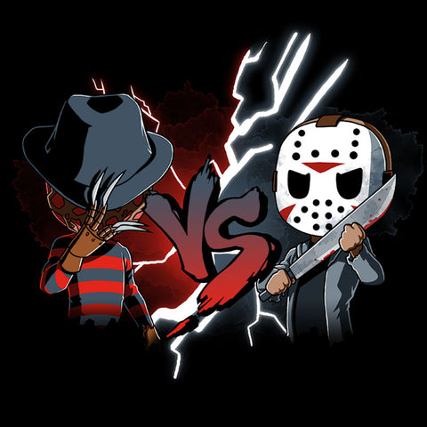 Freddy vs. Jason T-Shirt Nightmare on Elm Street TeeTurtle
