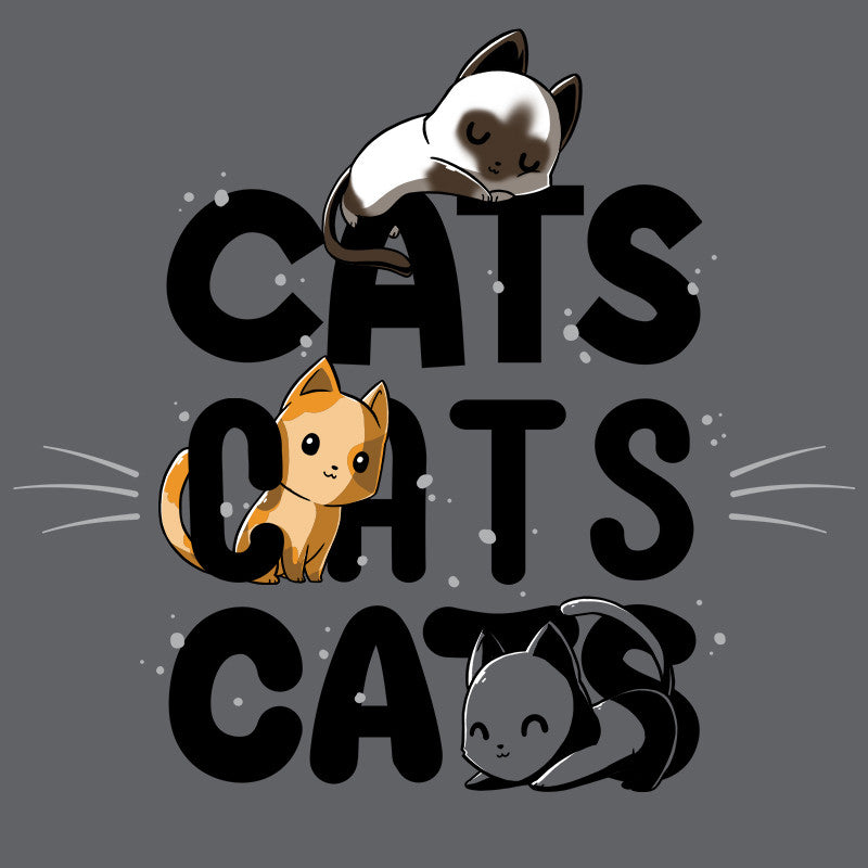 Cats Cats Cats T-Shirt TeeTurtle