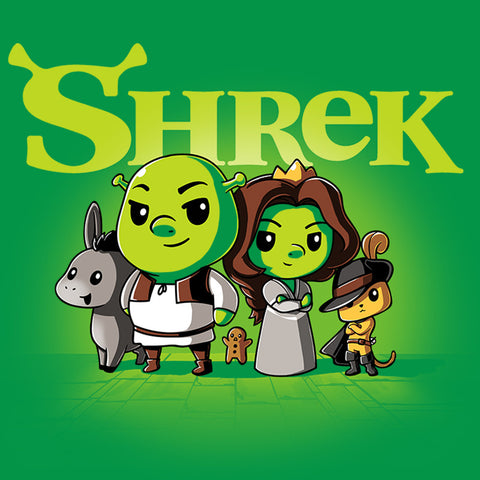 Shrek Shirt T-Shirt Shrek TeeTurtle