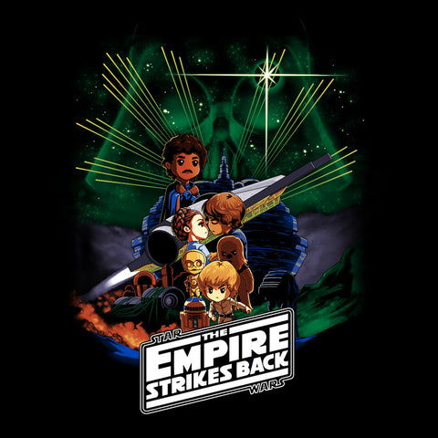Star Wars: Episode V - The Empire Strikes Back T-Shirt Star Wars TeeTurtle